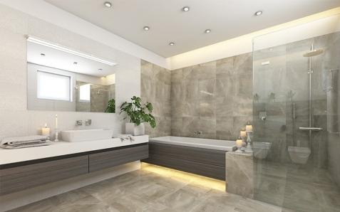 Création de salle de bain à Nice,